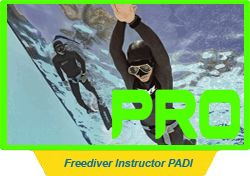 Freediver Instructor PADI